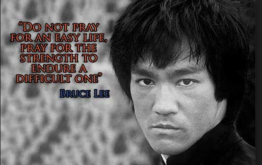 BruceLeePrayDifficult